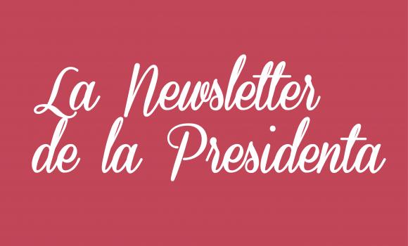 Newsletter de la Presidenta – marzo 2021